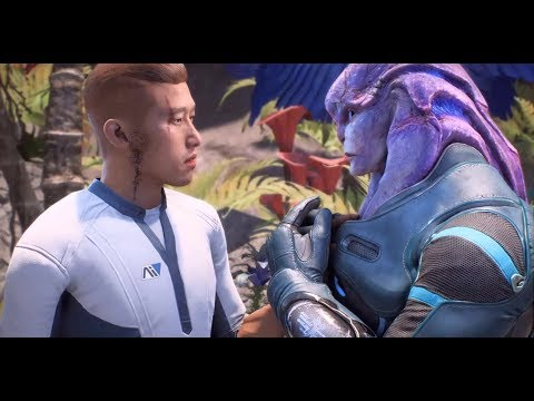 Scott Ryder and Jaal Romance - Mass Effect Andromeda