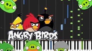 Angry Birds Main Theme Piano Tutorial