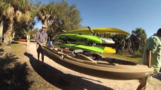 Test any Kayak or Canoe, Try before you buy at Canoe Country Outfitters Florida Tampa Bay(Every Saturday morning weather permitting, come join Canoe Country Outfitters to try out and test different styles of canoe and kayaks. A place to try before you ..., 2014-03-05T02:44:09.000Z)