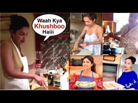 Bollywood Actresses COOKING For Husbands At Home During Quarantine- Priyanka Chopra, Malaika Arora