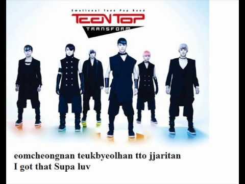 Teen Top - Supa Luv ( Rom.) Lyrics