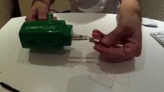 Custom foam cutting tool