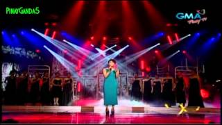 """Party Pilipinas [University] - VOX """"Aicelle Santos """"Kahit Isang Saglit""""  = 6/24/12"""