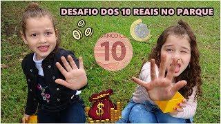 COMO ACHAR DINHEIRO NO PARQUE - DESAFIO DOS 10 REAIS NO PARQUE