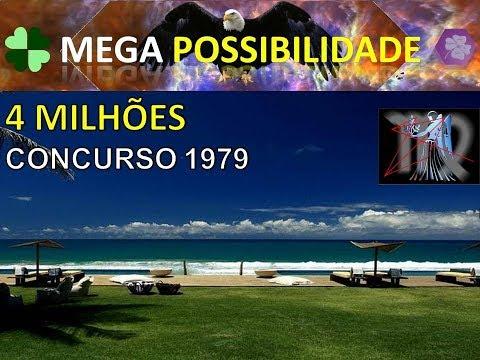 MEGA possibilidade, concurso 1979 da mega sena.