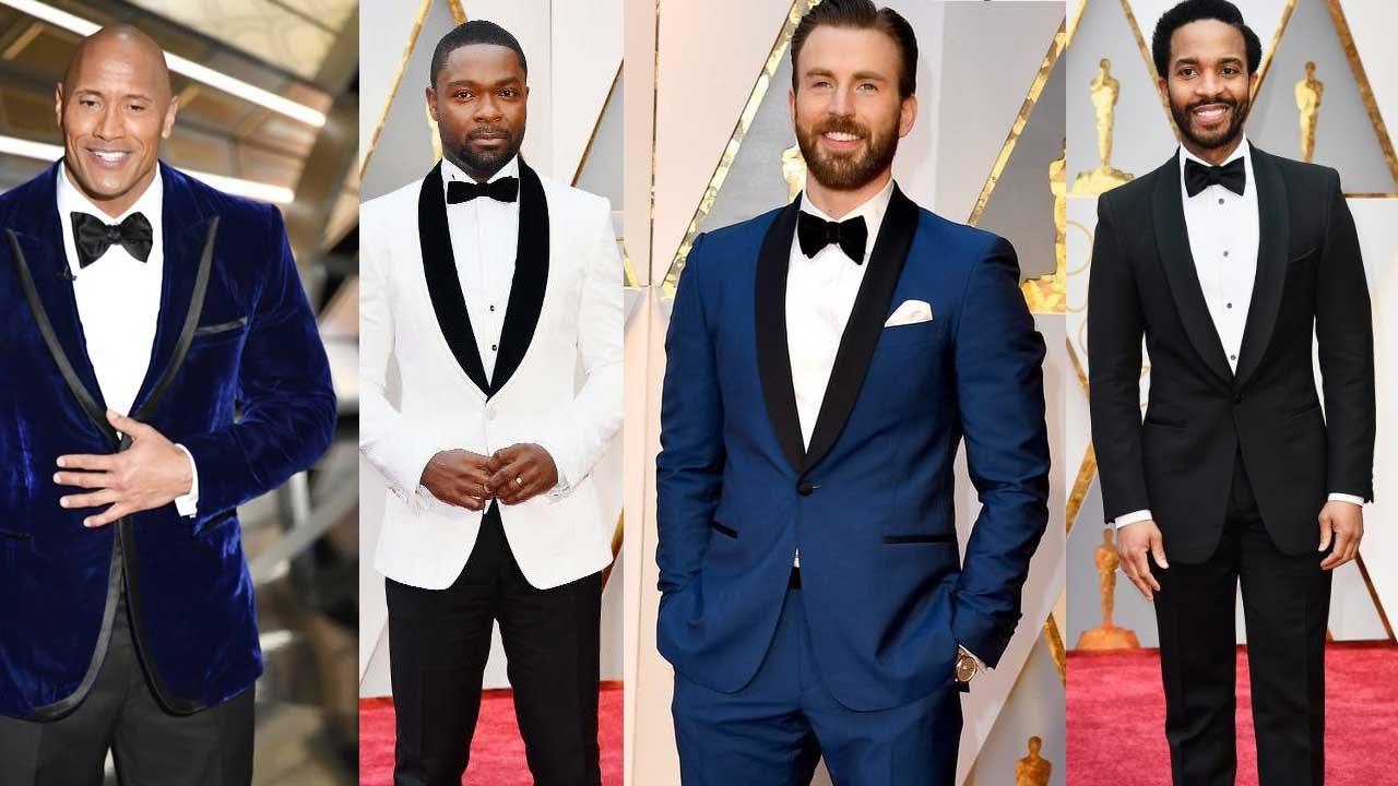 Oscars Verdict Best Red Carpet Tuxedos 2017 Youtube