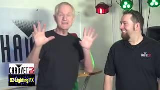 استعراض شوفيه DJ بلوتوث جديدة الأضواء! BTAir SlimPar T12BT س12 BT & أكثر