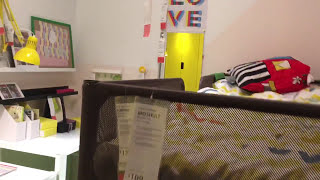 IKEA Ideas - Children's bedroom with bunk bed and study table