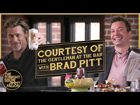 image for Courtesy of the Gentleman at the Bar w/ Brad Pitt!