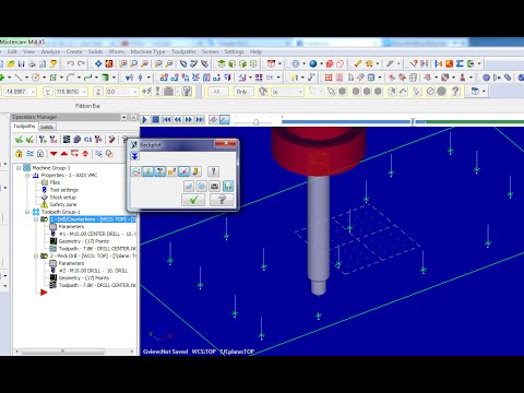 mastercam lathe training tutorial pdf