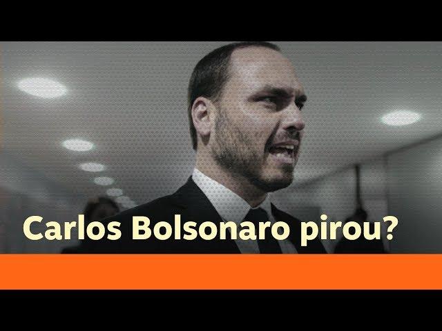 Filho de Bolsonaro demonstra sintomas claros de síndrome paranoide | Catraca Livre