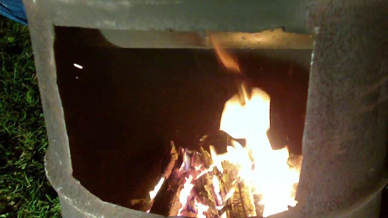 Homemade Outdoor Wood Furnace Cheep Heat Youtube