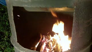 Homemade Outdoor Wood Furnace Cheep Heat