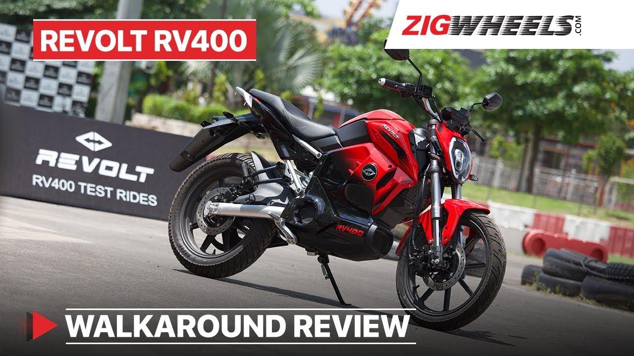 Revolt RV400 Walkaround Review, Sound, Battery Swap, Test Drive Event