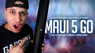 the best BATTERY POWERED SPEAKER for Mobile DJs? | LD Systems Maui 5 (Review)