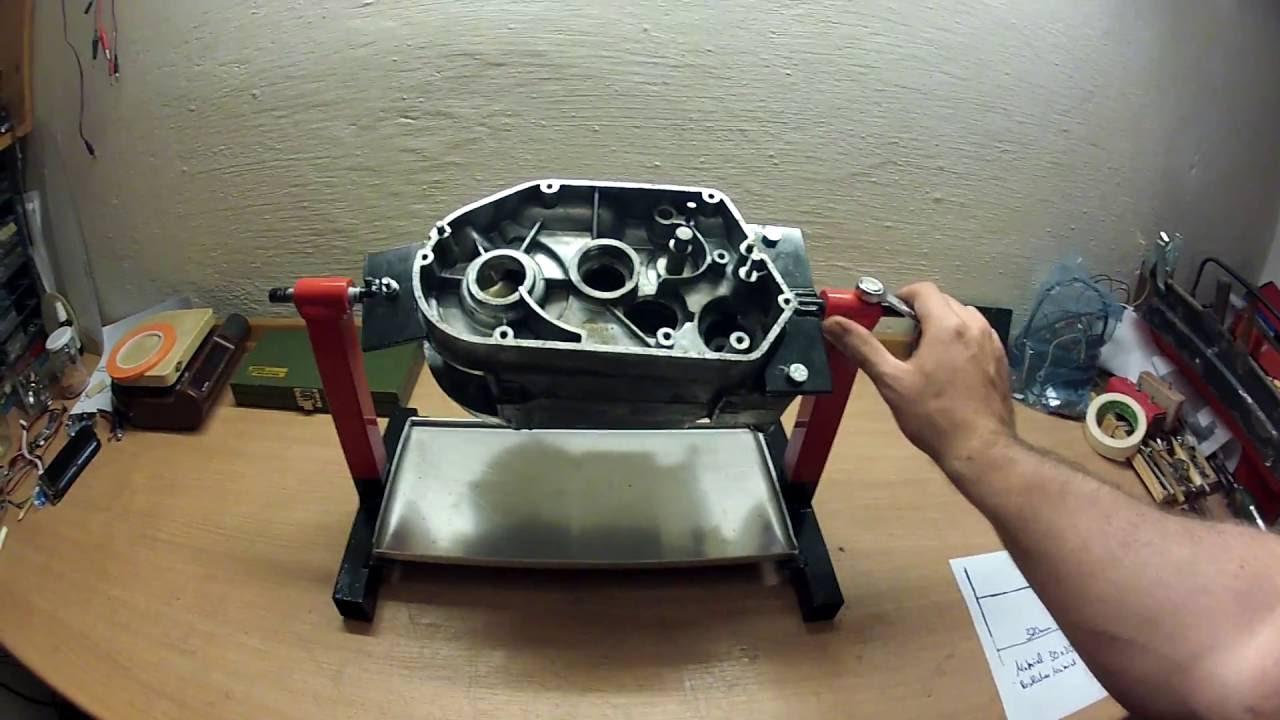 Motorständer Motor  Montageständer Simson Motorbock S50