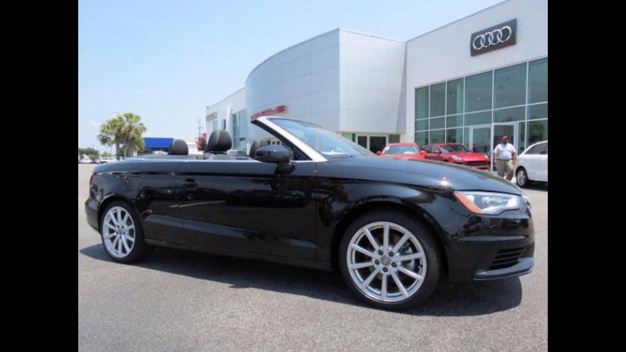 2016 Audi A3 Cabriolet Brilliant Black