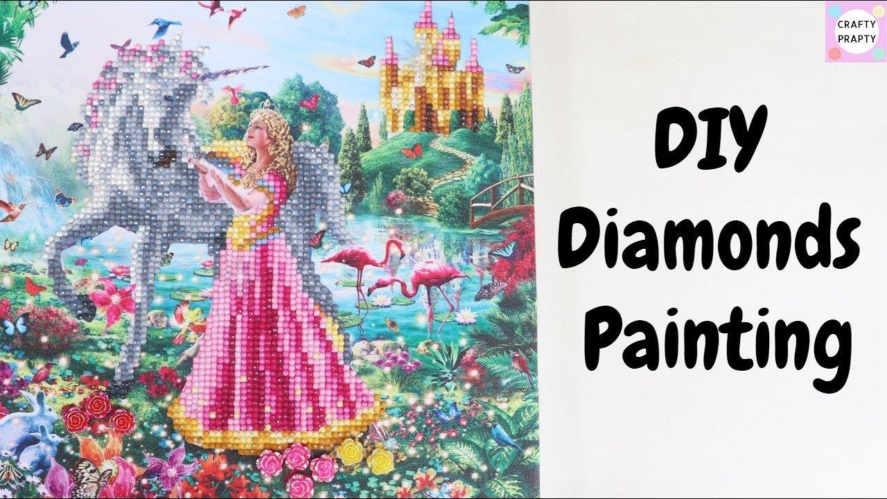 c53b5f893 DIY Crystal Painting / Give away announcement / DIY Diamond Painting /  Craft Buddy Crystal Card Kit