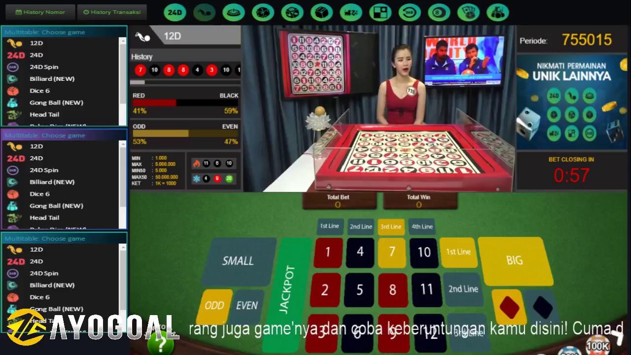 Judi Casino Online 12d Youtube
