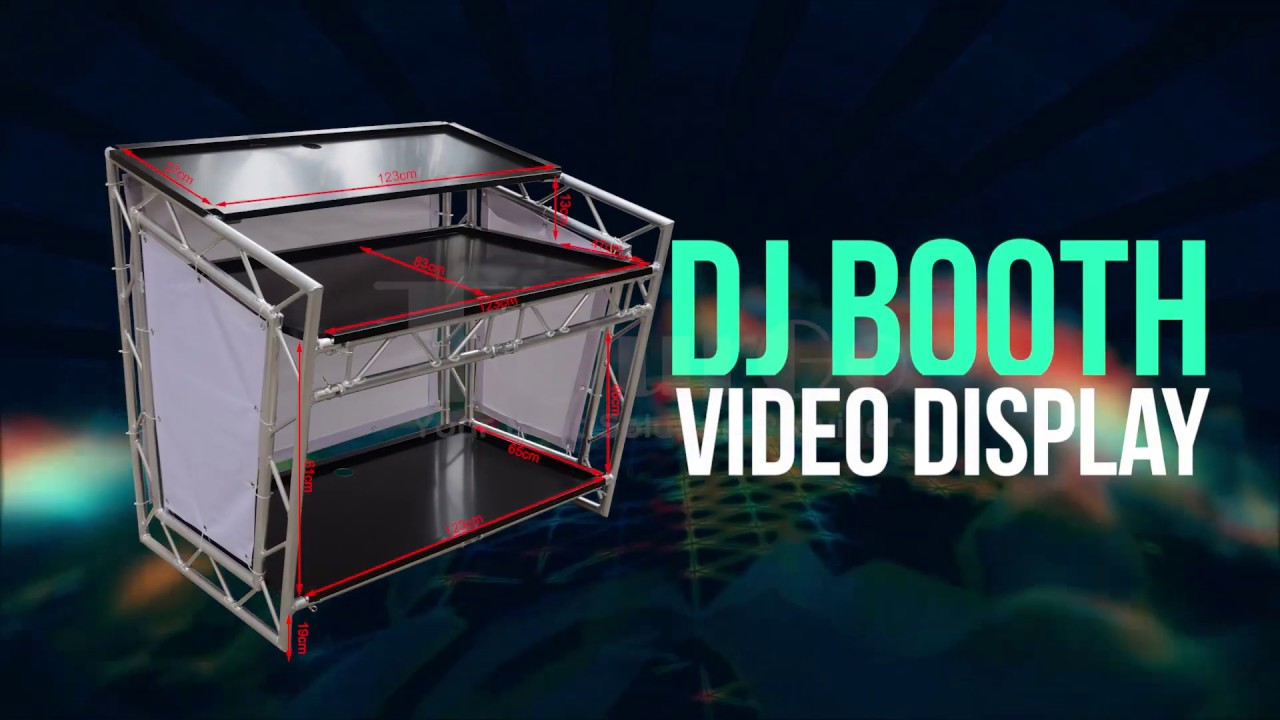 Dj Booth For Sale >> Tourgo Portable Dj Table Dj Booth Truss Folding Dj Truss Stand On Sale
