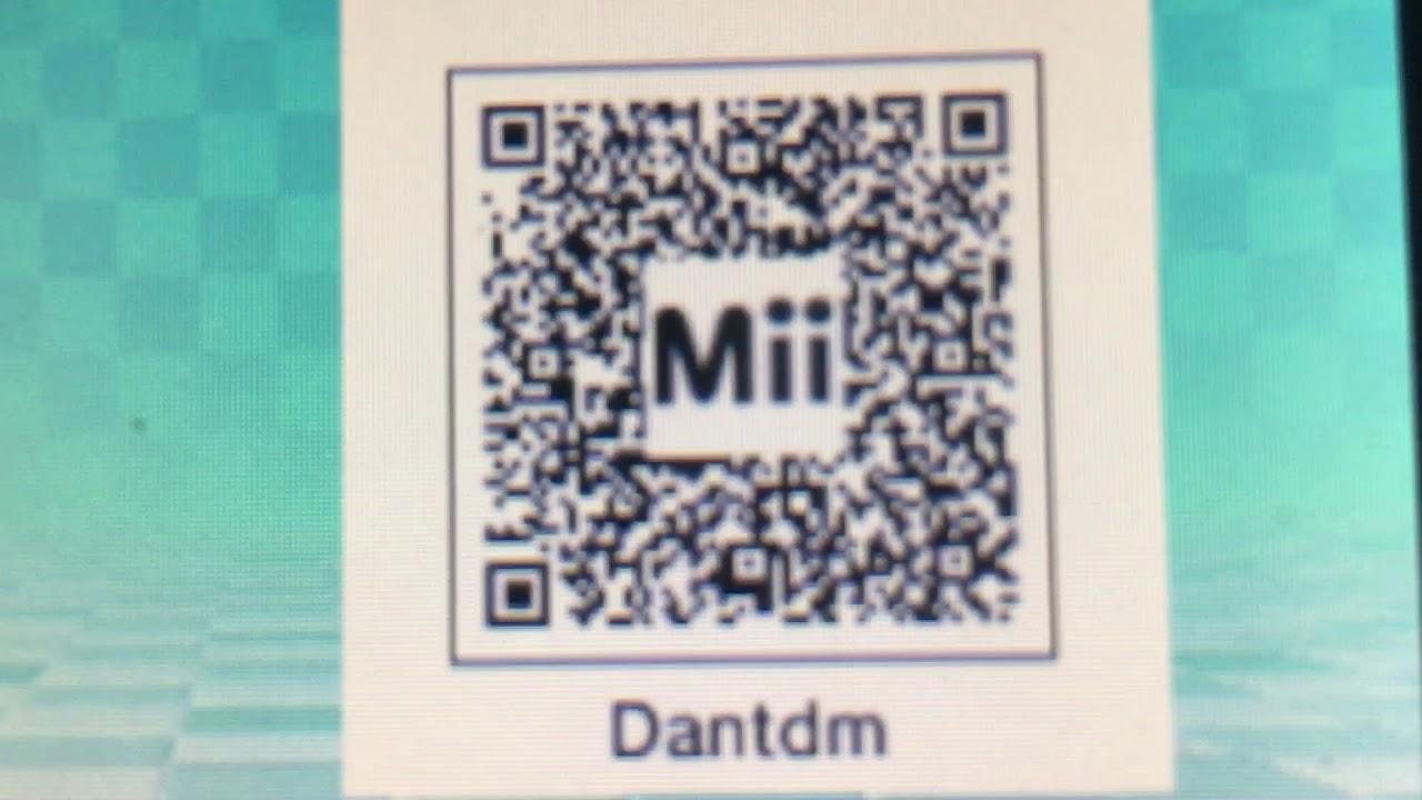 Dantdm Mii Qr Code