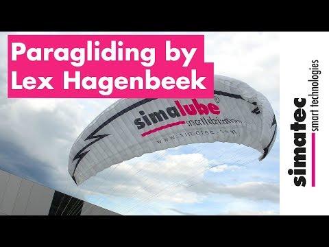 Sponsored By Simatec: Paragliding Pilot Lex Hagenbeek