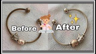 How To Clean Pandora Bracelet With Tarnish Ann Daniel Youtube