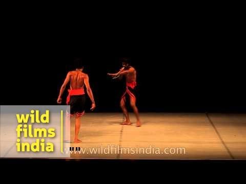 Traditional martial art dance form - Dani Pannullo Dance Theatre Co., Spain