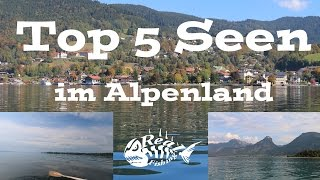 Top 5 Seen im Alpenland