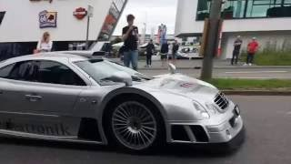 (Super)Cars leaving Cars & Coffee Stuttgart, 03.07.16 | CLK GTR,N-Largo,Aventador etc.