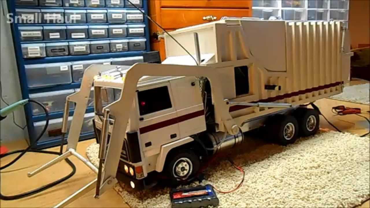 Radio Controlled Wedico Volvo Garbage Truck Youtube