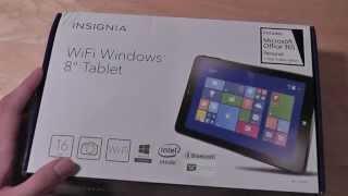"Unboxing: Insignia 8"" Flex Windows Tablet (16GB)"