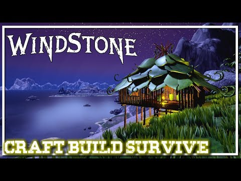 Hunt Forage Craft Build | WINDSTONE Gameplay | First Look