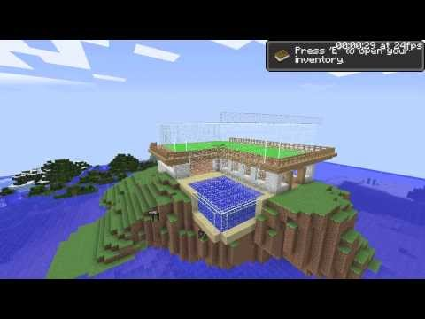 Minecraft Speedbuild Penthouse [HD]