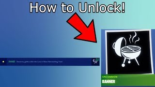 How to Unlock the Griller Banner! 14 days of summer Fortnite Guide