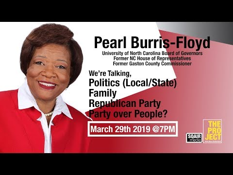 Pearl Burris-Floyd Appearing on The PROJECT with Steve Rutherford