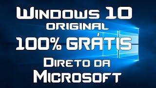 Windows 10 GRÁTIS?!? Original e direto da Microsoft!