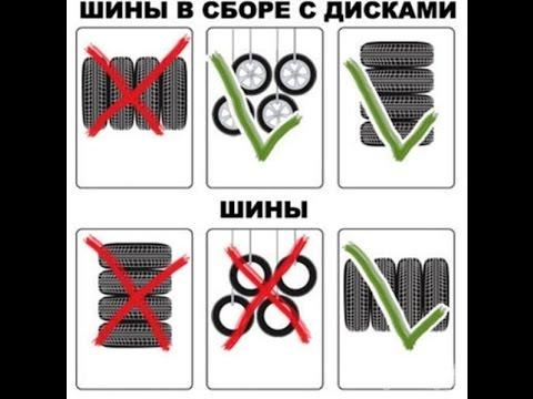 Хранение авто шин   Слеженость бортов Проблема Эксплуатации № 13