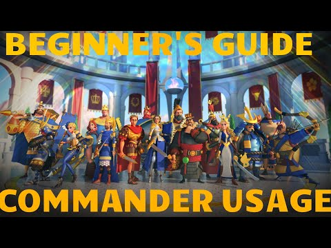 Rise of Civilizations - [Beginner's Guide] Official Commander Usage Guide