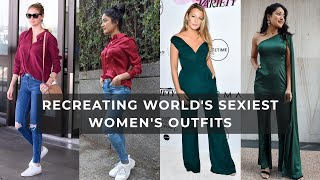 WORLD'S SEXIEST WOMEN INSPIRED OUTFITS | Affordable & STYLISH