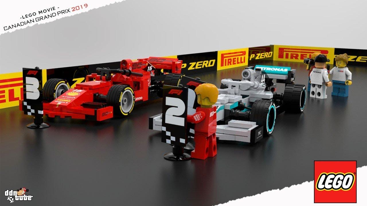 Lego F1 2019 Canadian Grand Prix Youtube