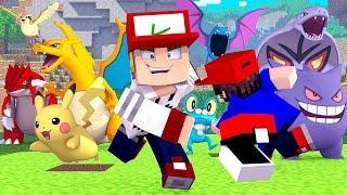 Minecraft: QUEM CAPTURA O MELHOR POKEMON - PIXELMON #04 ‹ PORTUGAPC ›