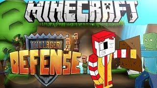 Minecraft Minijuego | Defiende La Villa - Resistiendo