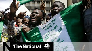 Nigerian security forces open fire on protesters