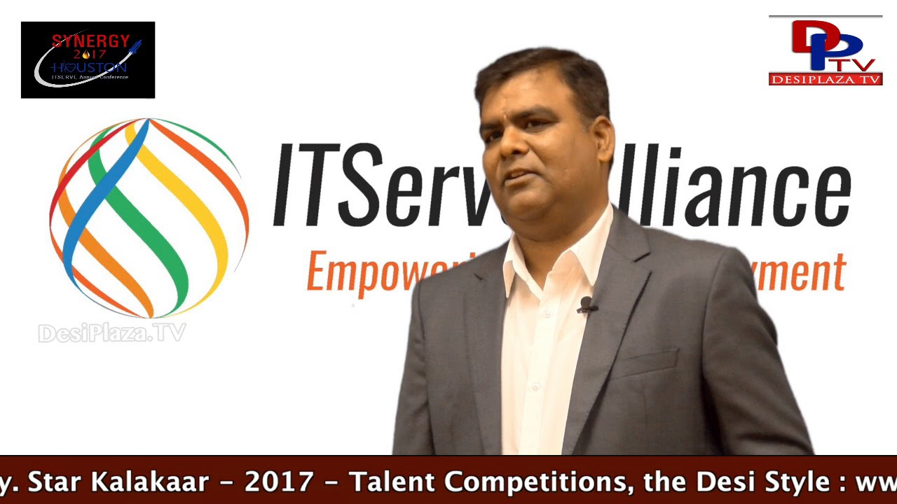Ashok Chttiprolu of Techstar Group Inviting Every one to Synergy 2017