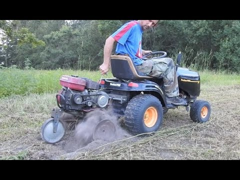 How To Attach A Tiller Riding Mower