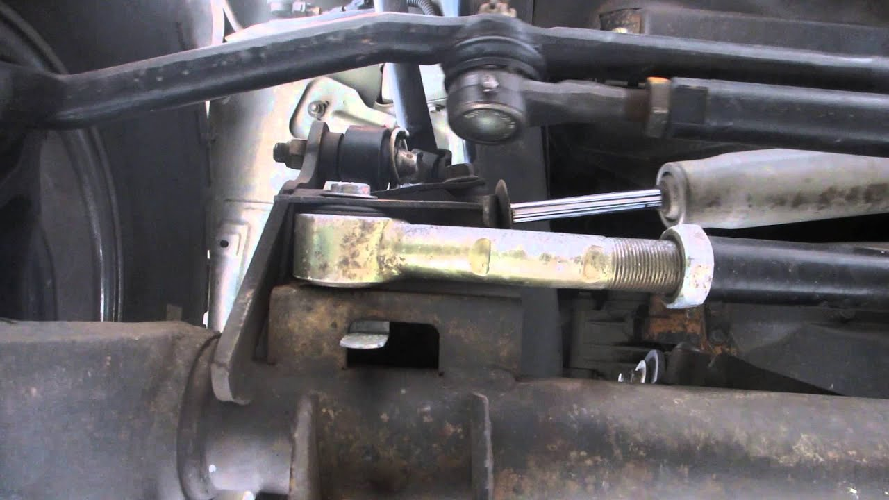 Jeep Wobble Diagnosis Track Bar Bolt