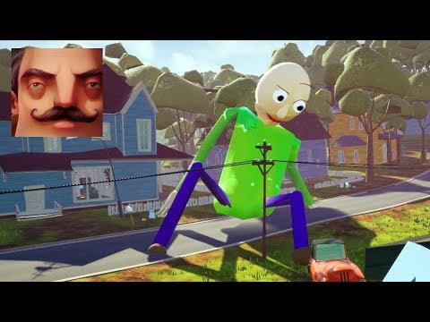 Hello Neighbor - My New Neighbor BIG Baldi Act 3 Gameplay Walkthrough