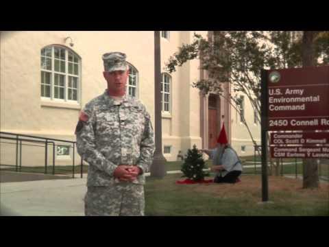 Army Environmental Command Holiday Greeting