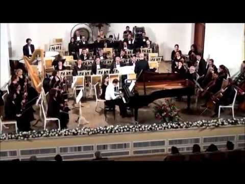 "Franz LISZT. ""Totentanz"". Samir Mirzayev (piano). Azerb. St. Symph. Orch., Cond. - Y. Adigezalov."